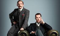 Dr. John Watson (Martin Freeman) und Sherlock Holmes (Benedict Cumberbatch) ermitteln in der Weihnachtsfolge in der viktorianischen ZEit / Bild: (c) BBC