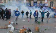 Fan-Krawalle in Lille / Bild: (c) Reuters (Reuters, OCT 23 LA VOIX DU NORD - NO ACCESS FRANCE, OCT 23)