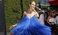 Model Heidi Klum poses at the 2014 Creative Arts Emmy Awards in Los Angeles, California / Bild: (c) REUTERS (DANNY MOLOSHOK)