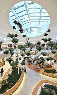 Garden Plaza in der SCS / Bild: Toni Rappersberger