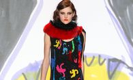 March 2 2014 Paris France Models on the catwalk displays the Tsumori Chisato Fall Winter 2014 / Bild: (c) imago/ZUMA Press (imago stock&people)