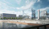 Bürogebäude cube Berlin am Hauptbahnhof / Bild: CA Immo