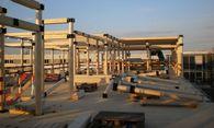 Die Holzsteckbauweise ermöglicht eine kurze Bauzeit. / Bild: Lukas Lang