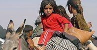 Yeziden auf der Flucht vor den IS-Kämpfern