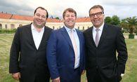 Daniel Riedl, Michael Ehlmaier und Stefan Ziegler. / Bild: EHL