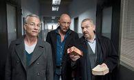 Freddy (Dietmar Bär) mit den Kollegen Ballauf (Klaus J. Behrendt) und Roth (Joe Bausch) / Bild: ARD