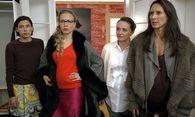 Martina Ebm (Caroline Melzer), Nina Proll (Nicoletta Huber), Gerti Drassl (Maria Schneider), Maria Köstlinger (Waltraud Steinberg). / Bild: (c) ORF