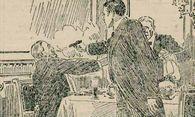 Illustration der ''Kronenzeitung'' nach dem Attentat. / Bild: (c) Faksimile