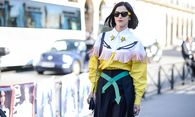 Oct 2 2015 Paris FRANCE Christian Dior STREETSTYLE PEOPLE ON STREET PARIS FASHION WEEK 2016 / Bild: (c) imago/ZUMA Press (imago stock&people)