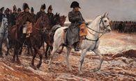 Nach seiner Rückkehr aus Elba wird Napoleon von seinen alten Freunden im Triumphzug nach Paris geleitet.  / Bild: (c) Imago