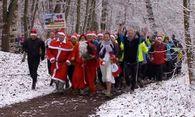 Laufen gegen den Weihnachtsspeck / Bild: (c) Reuters (RTV, DEC 26)