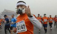 Marathon trotz Smog / Bild: (c) Reuters (RTV, OCT 20)