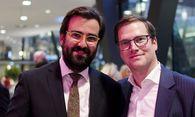 Georg Flödl und Benedikt Hofer genossen den Abend / Bild: Simon Rainsborough