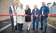 Begeisterte Ehrengäste bei der Eröffnungsfeier / Bild: IG Immobilien