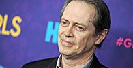 Steve Buscemi arrives on the red carpet at the HBO season three premiere of Girls at Jazz at Lincoln