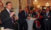 Eugen Otto beim Neujahrscocktail im Sacher / Bild: (c) Bill Lorenz