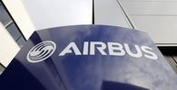 File photo of the Airbus logo at Airbus headquarters in Toulouse