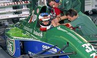 Michael Schumacher bei seinem Formel-1-Debüt. / Bild: (c) Imago (Kräling)