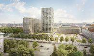 Entwurf für das inzwischen gestoppte Projekt am Heumarkt / Bild: Wertinvest