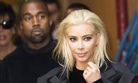 Kanye West and Kim Kardashian Modenschau Balmin Pret a Porter Automne Hiver Paris 05 03 2015 / Bild: (c) imago/PanoramiC (imago stock&people)