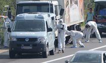 AUSTRIA CRIME REFUGEES DEAD / Bild: (c) APA/EPA/ROLAND SCHLAGER (ROLAND SCHLAGER)