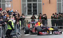Sebastian Vettel fuhr Formel1Boliden