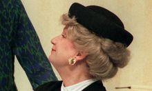 Archivbild: Ingeborg Krabbe bei einer Probe in Dresden 1998.