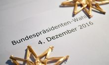 THEMENBILD: BP-WAHL /  BUNDESPR�SIDENT