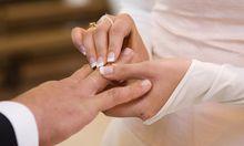Fast Viertel aller Eheschliessungen