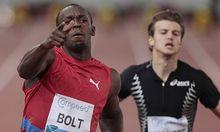 100MeterSprint Bolt laesst Zweifler