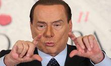 Berlusconis Verwirrspiel um seine Kandidatur löst in Rom Unruhe aus
