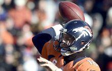 Peyton Manning wirft und Denver fiebert dem Touchdown entgegen.t the Kansas City Chiefs during their NFL football game in Denver, Colorado