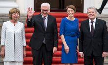 Daniela Schadt, Bundespräsident Steinmeier, Elke Büdenbender , Bundespräsident a. D. Joachim Gauck