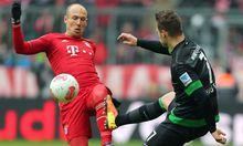 Fussball Bayern siegte verstaerkter