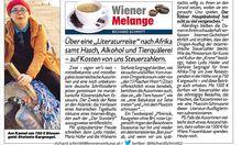 """Richard Schmitts Text über Sargnagels Marokko-Reise in der """"Krone""""."""