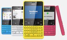Nokia Asha 210: Tastaturhandy mit 44 Tagen Akkulaufzeit