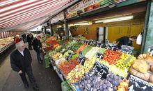 Naschmarkt Exotisches Obst statt