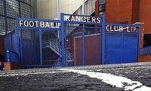 Ibrox Stadion Glasgow