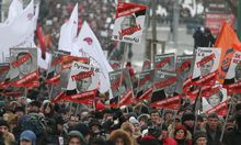RUSSIA ORPHANS BAN BILL OPPOSITION MARCH
