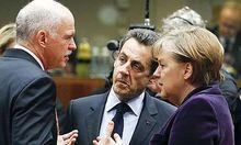 In einer Telefonkonferenz machten Merkel und Sarkozy den Griechen den Ernst der Lage sehr deutlich