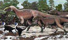 Auch gigantische Dinosaurier trugen