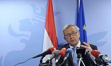 Eurogruppen-Chef Juncker hat vorsichtige Zustimmung zum Vorschlag eines Sonderkontos signalisiert