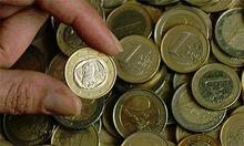 Griechische Ein-Euro-Münze