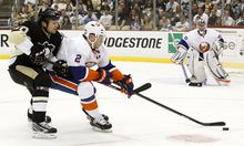 Islanders gegen Penguins