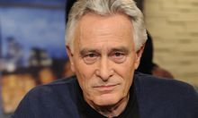 Der Schauspieler Klaus Wildbolz zu Gast in der ARD Talkshow Menschen bei Maischberger am 25 03 2014