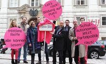 Aktionismus Neos benennen Minoritenplatz