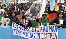 Themenbild: Demostrationen in Eritrea