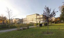 typische Jugendstil-Pavillons . Eine Bebauung zwischen den Pavillons wird auch in Zukunft nicht möglich sein.