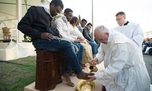 ITALY-VATICAN-POPE-IMMIGRATION-HOLY THURSDAY