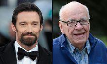 Hugh Jackman und Rupert Murdoch: Echte Männerfreundschaft
